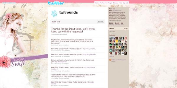 花柄・和柄テイストの女性用twitter壁紙